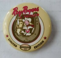 """Fossil Watches Limited Edition Roy Rogers & Trigger Button Pin Pinback 1.45"""""""