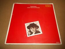 "TOM JONES "" A BOY FROM NOWHERE "" 7"" SINGLE  P/S 1987 VG/EX"