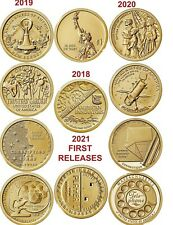 2018-2019-2020 +2021 First Releases American Innovation $ Set P OR D (20) coins