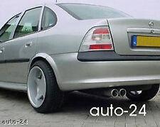 weiße Rückleuchten, Opel Vectra B ,96-99, Design Heckleuchten silber weiß, J96