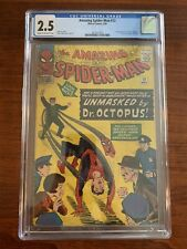 Amazing Spider-Man #12 CGC 2.5 (Marvel 1964) 3rd appearance of Doctor Octopus