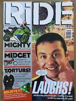Ride Magazine - January 1997 - Kawasaki ZXR750, BMW K1100RS, Honda CX500
