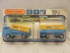 1978 Matchbox 900 Two Packs Mercedes Truck Trailer Blue TP-1 IMS Die-Cast Metal