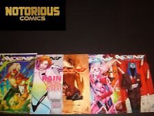 Axcend 1-5 Complete Image Comic Lot Run Set Collection