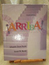 �Arriba! Comunicacion y Cultura Fourth edition