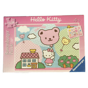 Ravensburger ~ HELLO KITTY  ~ 2 x Jigsaw Puzzles x 20 Pc Each ~ 4+Yrs ~ BNIB