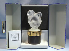 French Lalique Cut Glass Faun Mascot Perfume/ Flacon Collection 2001 100ml.