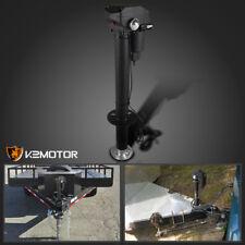 Electric 3500Lbs Power Tongue Jack 12V Rv Camper Trailer w/ LED Side Light Black