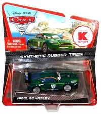 Disney Cars KMart Day 6 Nigel Gearsley Die-Cast Vehicle Synthetic Rubber Tires!