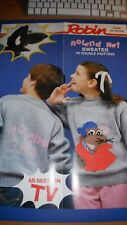 Robin Childs Roland Rat Sweater Knitting Pattern 13529