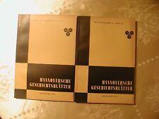 Hannoversche Geschichtsblätter Neue Folge Band 10 komplett 1956/57