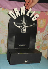 vintage 1990 DANZIG home video cassette COUNTER DISPLAY standee Def American