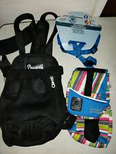 Dog Pawaboo Carrier Sack Harness and Back Pack Small