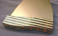 PLATE STYLE TAILPIECE FOR ARCHTOP GUITAR - GOLD