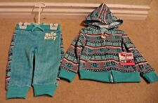 HELLO KITTY BRAND 2-PIECE HOODIE & PANT SET 18M *NEW*