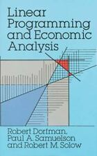 Dover Books on Computer Science: Linear Programming and Economic Analysis by...