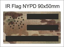 INFRARED IR FLAG NYPD PATCH NYW YORK POLICE DEPARTMENT NESworkshop
