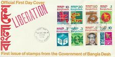 """Bangladesh 1971 1st Issue on """"Liberated"""" First Day Cover"""
