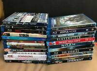 BLU RAY Lot 24 Movies DVD Action Comedy Sci-fi Kids Thriller Adventure Uplifting