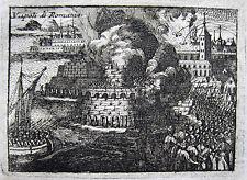 NAUPLIA NAFPLION SULTAN AHMED 1715 NAPOLI DI ROMANIA RICONQUISTA SULTANO
