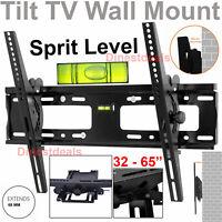 Tilt TV Wall Bracket Mount For 32 37 40 45 47 50 55 60 65 Inch TV Plasma LCD LED
