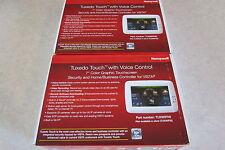 Honeywell TUXWIFI Tuxedo Touch Control Color Graphic Keypad White 2-Lot TUXWIFIW