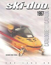 Ski-Doo parts manual catalog book 1997 Skandic Wide Track