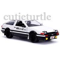 Jada Metals Hollywood Rides Initial D Toyota Trueno AE86 1:24 30840 White/Black