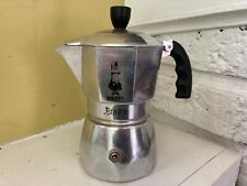 Bialetti Brikka Stovetop Espresso Maker Clear Viewing Top 4-Cup Italy RARE