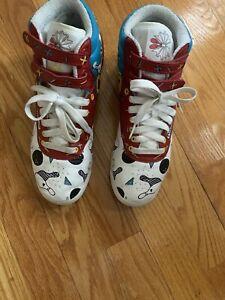 Reebok Classic Princess Fitness High Top Sneaker White Womens Size 7