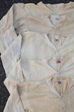 Lot 5 Antique Vtg 1930s 1940s Mens Union Suit Long John Workwear Hanes Bodygard