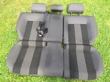 VW Polo 1.4 Tdi 07-09 Back Seat Rear Bench Fabric Anthracite United 2008