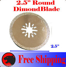 "2.5"" Diamond Cut Oscillating MultiTool Blade For Craftsman Nextec Bosch Multi-X"