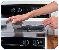 Prince Lionheart Shield-A-Burn Adjustable Stovetop Oven Stove Guard - 72021