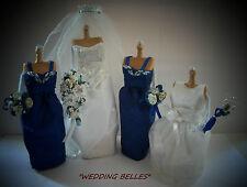 """WEDDING BELLES"" -  MINIATURE PERSONALISED WEDDING SOUVENIR SET"