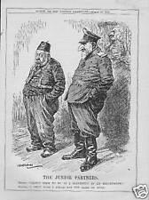 ORIGINAL 1916 CARTOON PRINT . THE SULTAN & FERDIE