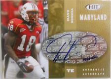 2006 Sage Hit Vernon Davis Rookie Autograph Card # 168 / 250 - 49ers