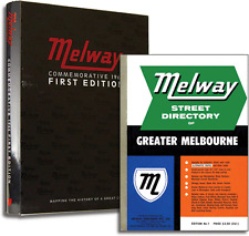 Melway Commemorative 1966 First Edition – Vintage Street Directory, Gift Book