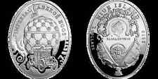 2010 Niue Huge 57g  Silver $2 Russian  Faberge Egg
