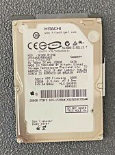 "Mac Catalina Hitachi 250GB SATA 2.5"" Hard Drive 5400RPM HTS545025B9SA02 HD Apple"