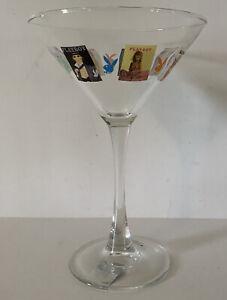 Vintage Playboy Martini Glass Playboy Magazine Covers Bunny Official Logo