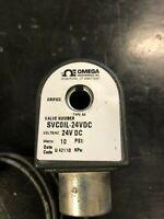 Applied Materials (AMAT) 3870-02566 Omega SVCOIL-24 VDC VALVE COIL 24VDC FOR OME