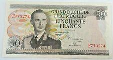 50 Francs 1972  Luxembourg, KM:55b