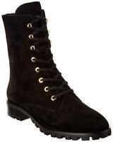 Stuart Weitzman Norrie Suede Boot Women's Black 8.5