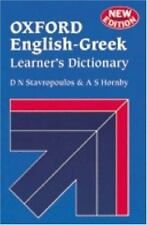 Oxford English-Greek Learner's Dictionary, , , Good, 2003-01-01,