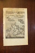 ✒ 1683 MANESSON MALLET Iles Sio Psara (Zara) GRECE archipel Egée près TURQUIE