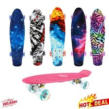 LED Skateboard Deck Funboard Miniboard Komplettboards Pennyboard Kinderboard DE