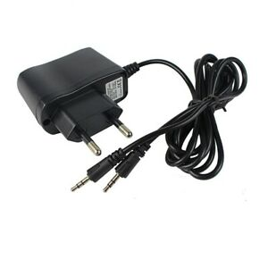Kids Walkie Talkie Charger Adapter 2 in 1 Input 110-240V Output 5V 1A AC RT388