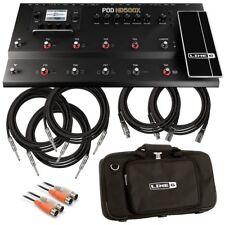 Line 6 POD HD500X Multi-Effect Floorboard PERFORMER PAK