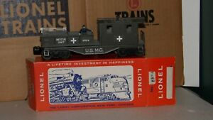 LIONEL # 6824 USMC RESCUE UNIT BOXED COLLECTOR C-9 OVER STAMPED MADISON BOX